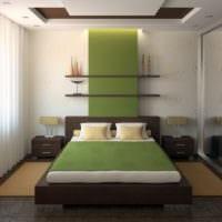 спальня 11 кв м интерьер