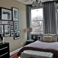 спальня 11 кв м интерьер фото
