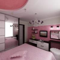 спальня площадью 14 м2 декор