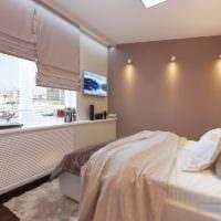 спальня площадью 14 м2 декор фото
