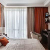 спальня площадью 14 м2 дизайн интерьер