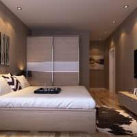 спальня площадью 14 м2 фото декора