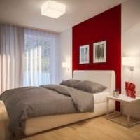 спальня площадью 14 м2 красивый интерьер