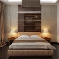 спальня площадью 14 м2 стильный интерьер