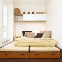 спальня площадью 9 кв м фото декора