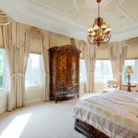 спальня в классическом стиле декор