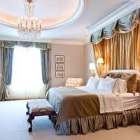 спальня в классическом стиле декор фото