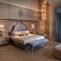 спальня в классическом стиле дизайн
