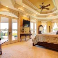 спальня в классическом стиле дизайн интерьер
