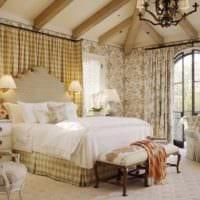 спальня в классическом стиле дизайн интерьера