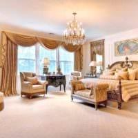 спальня в классическом стиле дизайн идеи