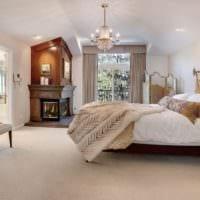 спальня в классическом стиле фото интерьер