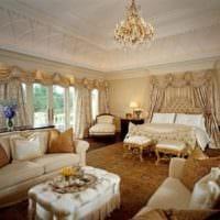 спальня в классическом стиле фото оформление