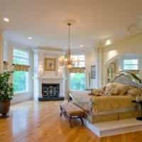 спальня в классическом стиле идеи декор