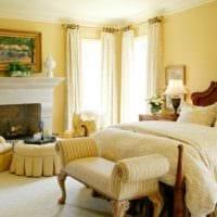 спальня в классическом стиле интерьер идеи