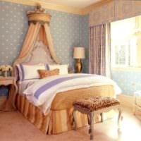 спальня в классическом стиле красивый интерьер