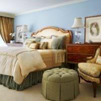 спальня в классическом стиле современный интерьер
