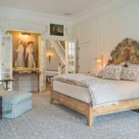 спальня в классическом стиле стильный интерьер