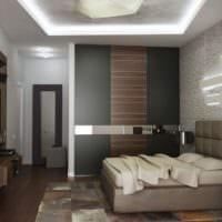 спальня в квартире современный дизайн