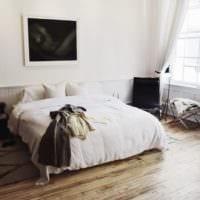 спальня в квартире стильный интерьер