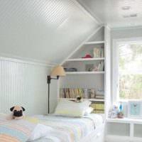 спальня на мансарде идеи оформление