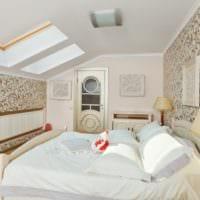 спальня на мансарде идеи оформления