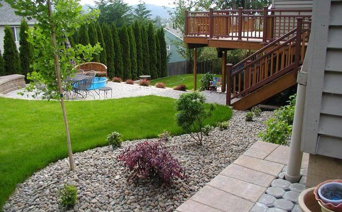 декор и оформление садового участка