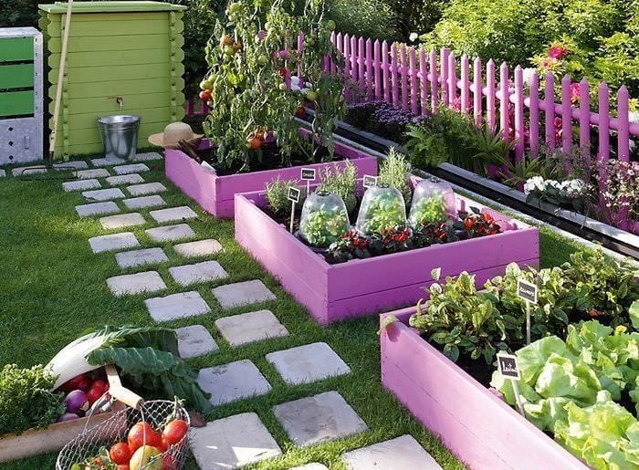 тонкости дизайна садового участка