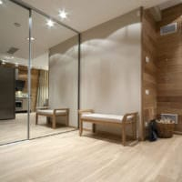 варианты дизайна прихожая в квартире в панельном доме