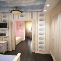 3D визуализация квартиры дизайн фото