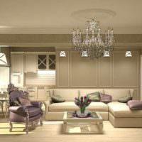 3D визуализация квартиры фото проекта