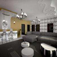 3D визуализация квартиры интерьер
