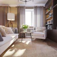 3D визуализация квартиры проект