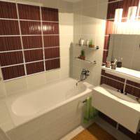 3D визуализация квартиры проект фото