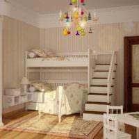 детская комната в стиле прованс