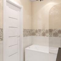 фото плитки с рисунком для ванной