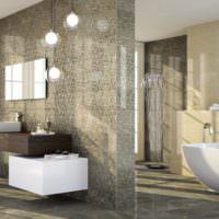 красивая плитка для ванной комнаты идеи