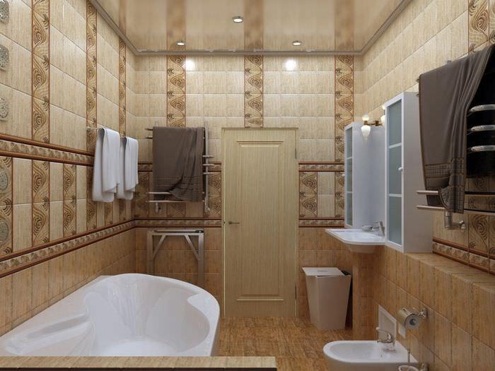 плитка для ванной в панельном доме