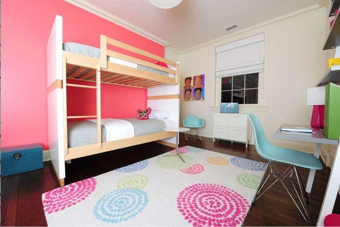 детская комната для двух разнополых детей 75 фото оформления