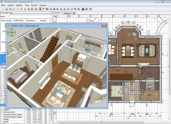 sweet home 3д дизайн