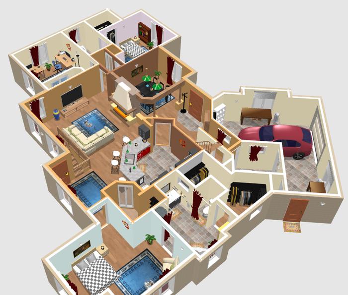 sweet home дизайн