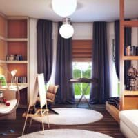 комната мальчика и девочки мебель
