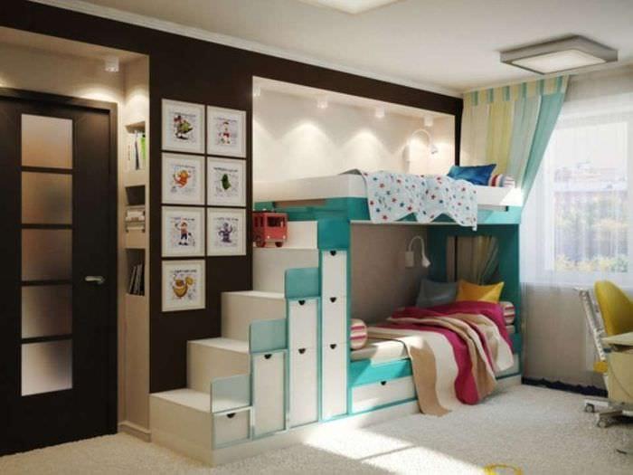 идеи дизайна детской для детей