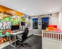детская комната для мальчика декор