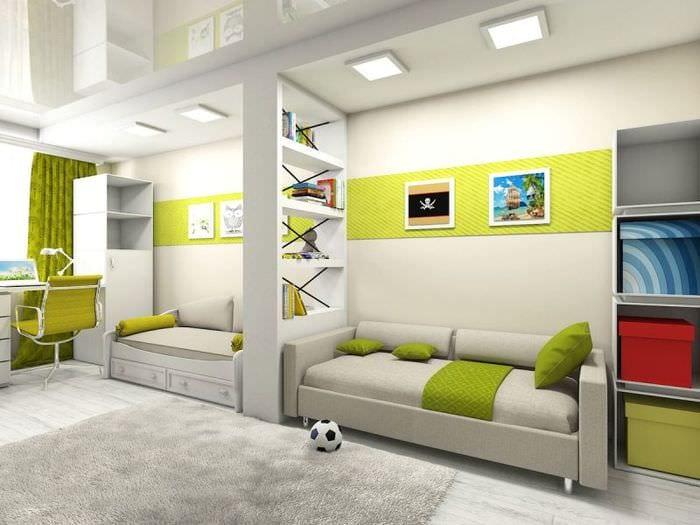 цветовая гамма детской комнаты