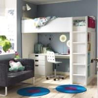 детская комната для мальчика и девочки фото дизайна