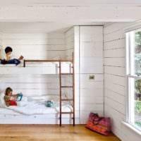 детская комната для мальчика и девочки фото дизайн