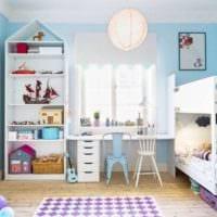 детская комната для мальчика и девочки фото идеи
