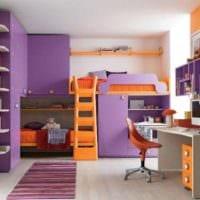 детская комната для мальчика и девочки идеи