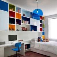 детская комната для мальчика идеи интерьер